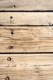 Étage en bois de Chambre Image stock
