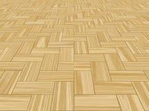 étage en bois en bois de Parquetry   Image stock