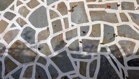Étage en pierre de Cycladic image libre de droits