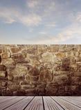 Étage et mur Images libres de droits