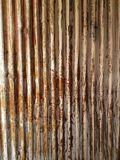 Étain ondulé de grange de patinad de vintage images libres de droits