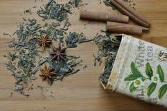 Étain sec de thé Image libre de droits