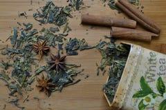 Étain sec de thé Photographie stock