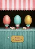 Étalage de Pâques de vintage