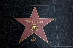 Étameur ambulant Bell Walk d'étoile de renommée Photographie stock libre de droits