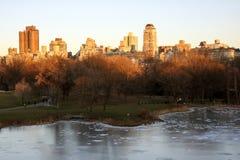 Étang à New York Photo libre de droits