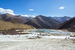 Étang calcifié bronzage de Quanhua images libres de droits