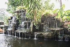 Étang de cascade Photo libre de droits