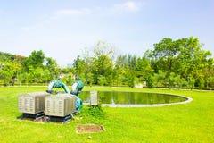 Étang de fontaine Photo stock