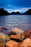 Étang de la Jordanie, stationnement national d'Acadia Photos libres de droits
