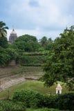 Étang de temple de Jagannath Puri Image libre de droits