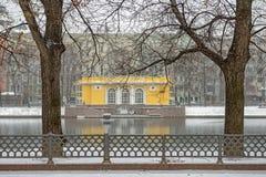 Étang patriarcal à Moscou Russie Photographie stock