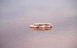 Étangs de sel dans Gruissan, France photos libres de droits
