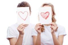 Étant dans l'amour Image stock