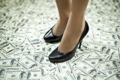 Étape à la richesse image stock