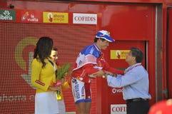 Étape 6 de podiume de l'excursion de l'Espagne 2011 Image libre de droits