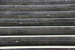 Étape d'escalier de mortier ou de siège d'amphithéâtre photos libres de droits