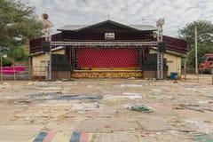 Étape dans Myanmar Photos stock