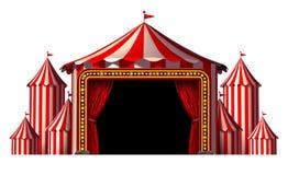 Étape de cirque illustration libre de droits