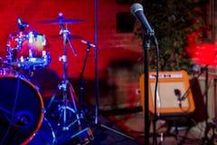 Étape de concert de rock Photo stock