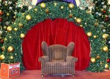 Étape de Noël Image libre de droits