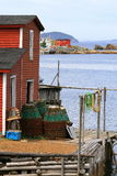 Étape de pêche Photos libres de droits