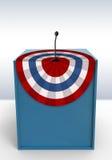 Étape de vote illustration de vecteur