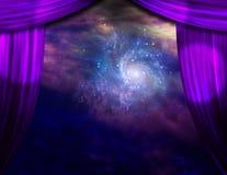 Étape galactique illustration de vecteur