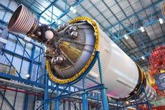 Étape III Fusée Saturn v Image stock