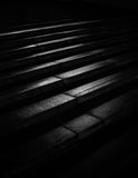 Étapes abstraites d'escalier images stock