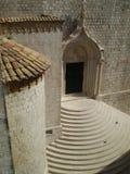 Étapes d'église, Dubrovnik, Croatie Photos stock