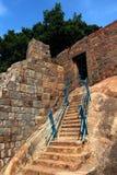 Étapes d'entrée de fort Images libres de droits
