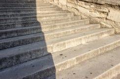 Étapes d'escalier Photo libre de droits