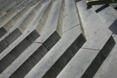 Étapes d'escaliers en pierre rythme Abstraction Photo libre de droits