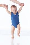 Étapes de bébé Photographie stock