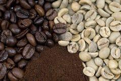 Étapes de café Images libres de droits