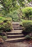 Étapes de jardin Photo libre de droits