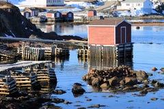 Étapes de pêche Photographie stock libre de droits