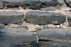 Étapes en pierre antiques amenant photographie stock