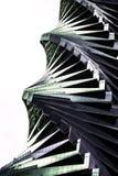 Étapes en spirale d'Abstact Image stock