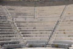 Étapes et sièges d'amphithéâtre Photo libre de droits