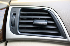 État automobile d'air de conducteur d'air Photographie stock