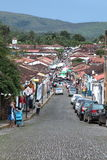 État Brésil de Goias de ville de Pirenopolis Images libres de droits