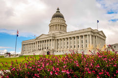 état capital de construction Utah Image libre de droits