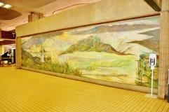 État d'Hawaï d'aéroport de kahului de Maui Photos libres de droits