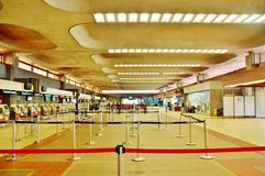 État d'Hawaï d'aéroport de kahului de Maui Image stock