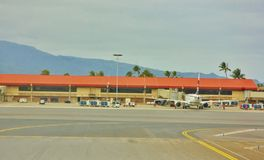 État d'Hawaï d'aéroport de kahului de Maui Photographie stock