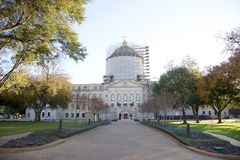 État de bâtiment capitale de Mississippi Photographie stock