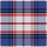 État de Floride écossaise de tartan de modèle sans couture de vecteur Images stock