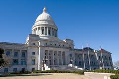 état de gouvernement de l'Arkansas images libres de droits